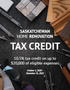 RRHBA - Saskatchewan Home Renovation Tax Credit